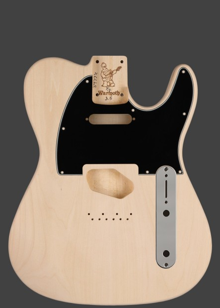 7/8 T-Style Replacement Guitar Body