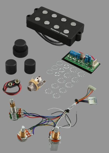 Seymour Duncan Music Man System, 4-String/3-knob