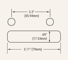 American Standard Strat® Diagram